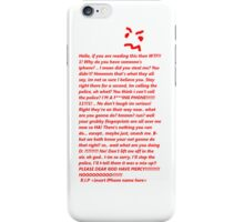 Angry Iphone iPhone Case/Skin
