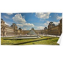 Louvre Poster