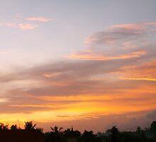 Fiery Sunrise by YogiColleen