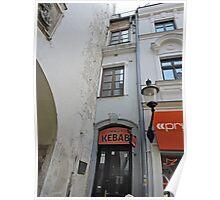 The narrowest house, Bratislava, Slovakia Poster