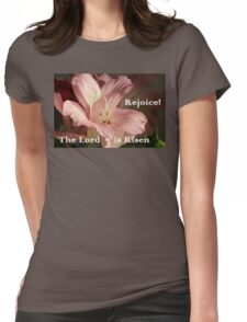 Pink Lily Easter Card/gifts/apparel Womens Fitted T-Shirt