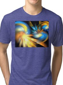 Galaxy Rays Tri-blend T-Shirt
