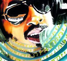 Stevie Wonder by Harryjamesjr