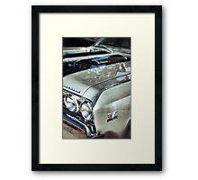 Silver bullet Framed Print