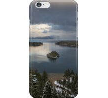 Storm at Emerald Bay iPhone Case/Skin
