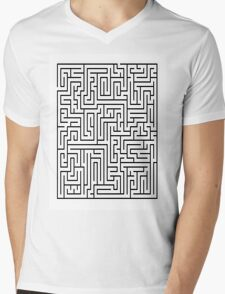 The maze Mens V-Neck T-Shirt