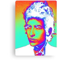 Bob Dylan Psychedelic Canvas Print