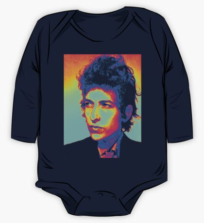 Bob Dylan Psychedelic One Piece - Long Sleeve