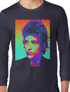 Bob Dylan Psychedelic Long Sleeve T-Shirt