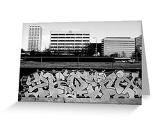 City Will Rise Greeting Card