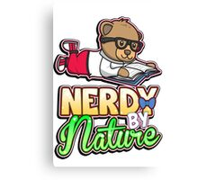 Nerdy By Nature Canvas Print