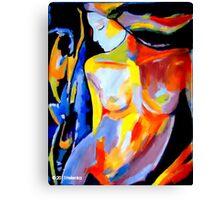 """Silent Glow"" Canvas Print"