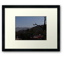 Wash Day In The Sierra - Dia De Llavado En La Sierra Framed Print