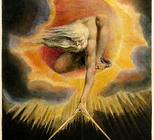 The Ancient of Days Painting by William Blake by pdgraphics