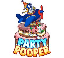 Party Pooper Photographic Print