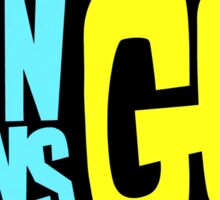 Teen Titans Go logo Sticker