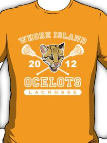 Go Ocelots! (White Fill) T-Shirt
