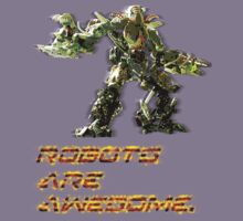 """""""Robots Are Awesome"""" by Tom  Rule"""