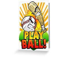 Play Ball! Greeting Card