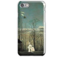 Henri Rousseau Carnival Evening iPhone Case/Skin