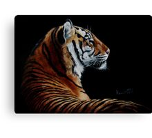 Burning Bright - tiger Canvas Print
