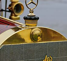 1911 Mercedes 50 HP Maythorn 5 Passenger Tourer Hood Ornament by Jill Reger
