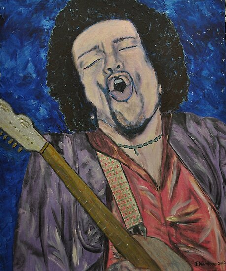Hendrix by Tricia Winwood