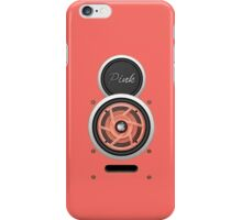 SPEAKER IPHONE CASE 4a ( Pink eddition ) iPhone Case/Skin