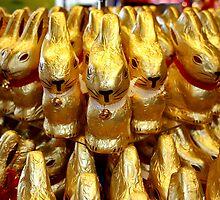 Bunnies on Parade by AnnDixon