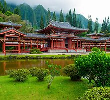 The Byodo Temple by Adrian Alford Photography