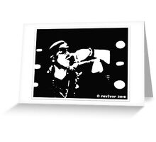Jay Z live at the Isle of Wight Greeting Card