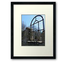 I offer you freedom Framed Print