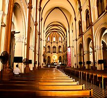 Catholic Church - Ho Chi Minh City by Janette Anderson