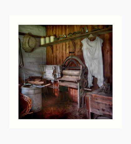 The Laundry ~ Monte Cristo, Junee NSW Art Print