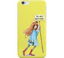 Do not disturb iPhone Case/Skin