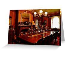 Monte Christo Formal Dining room.[Byo Spirits]. Greeting Card