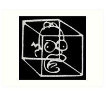 Homer Frinkahedron Art Print