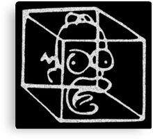 Homer Frinkahedron Canvas Print