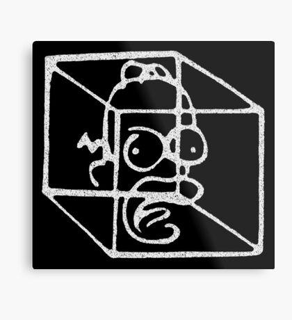 Homer Frinkahedron Metal Print