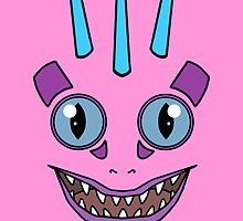 Pink Murloc by RubyTruffles