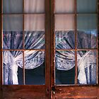 Old Lace & Weathered Doors by ©  Paul W. Faust