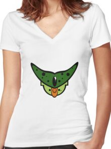 By your powers combined! Women's Fitted V-Neck T-Shirt