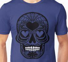 Spider web Skull Unisex T-Shirt
