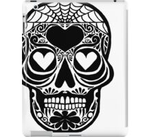 Spider web Skull iPad Case/Skin