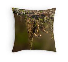 Lichen combo Throw Pillow
