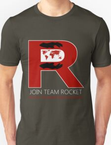 Join Team Rocket! Unisex T-Shirt
