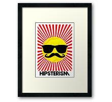 Hipsterism Framed Print