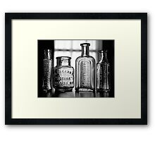 Remedies 2 Framed Print
