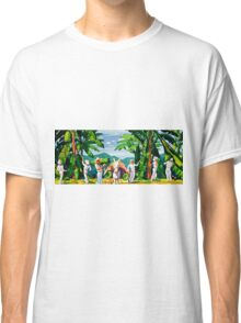 Banana Growers Harvest Vintage Advertisement Classic T-Shirt