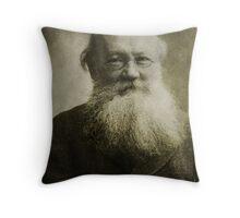 Peter Kropotkin Throw Pillow